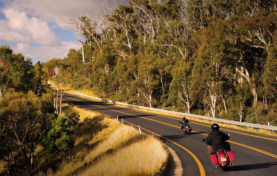motorbike header