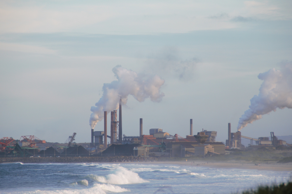"""Heavy,Air,And,Water,Pollution,In,Australia,€"""",Lets,Stop"""